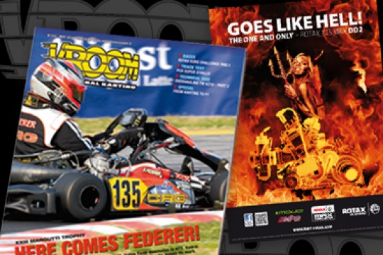Rotax new exclusive poster with Vroom May issue