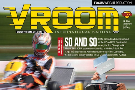 Vroom International August 2018 out now!