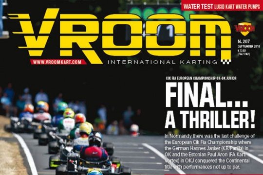 Vroom International September 2018 out now!