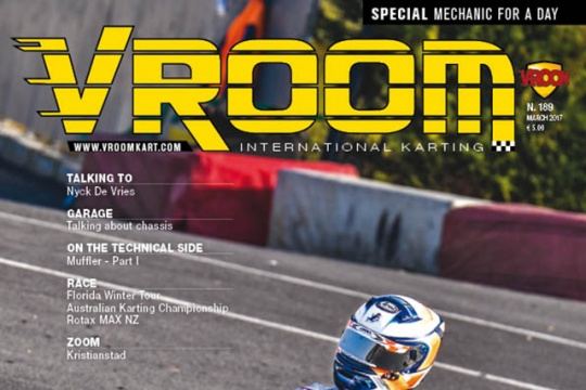 Vroom International March 2017 out now!