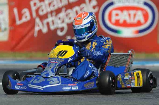 Praga protagonist in KZ1 and KZ2 at the WSK Euro Series