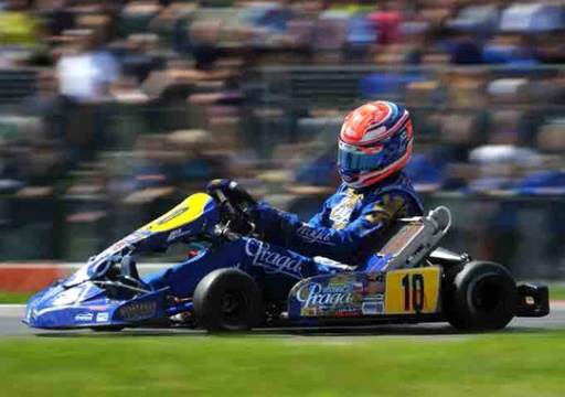 Praga top protagonist in KZ1 in the 2013 WSK Euro Series