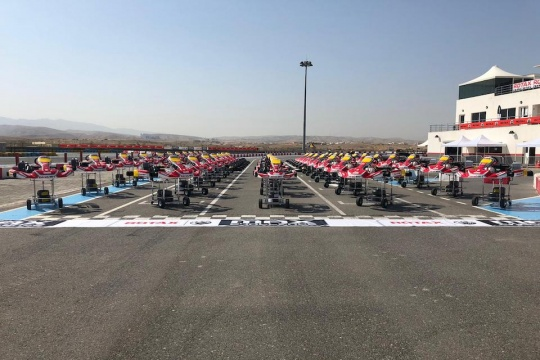 Birel ART is present to the MENA Karting Championship Nations Cup 2020