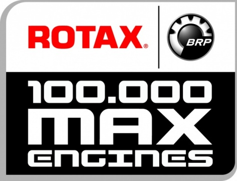 100.000th Rotax Max engine leaves the line