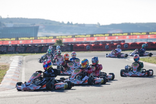 Pole set in Portimao for the Rotax Grand Finals