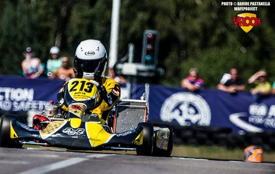 Travisanutto on top in Euro KFJ final
