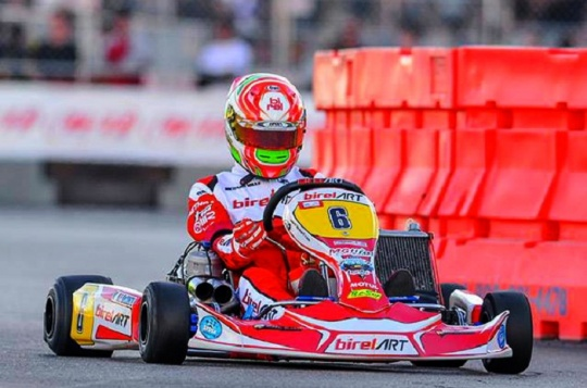 First victory for Birel ART at the Supernats in Vegas