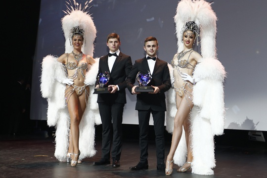 Verstappen and Joyner crowned 2013 World Champions at FIA Gala