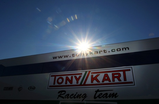 Tony Kart Racing Team line-up