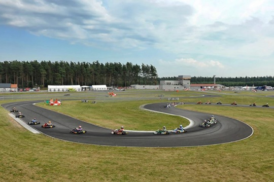 Euro CIK finale and Euro Rotax - follow the Live Streaming