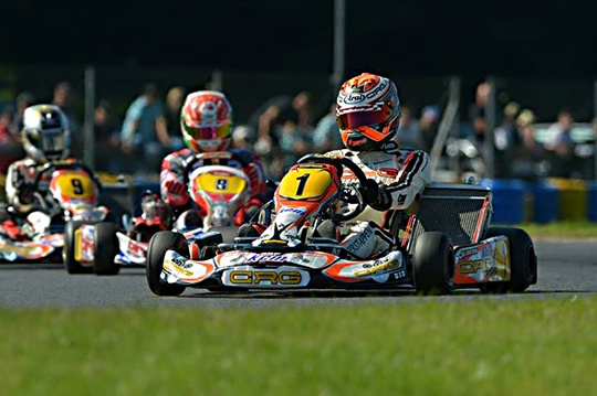 Verstappen wins KZ World Championship at 15!