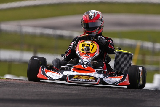 THREE PODIUM RESULTS FOR TEAM PSL KARTING AT ECKC SEASON OPENER