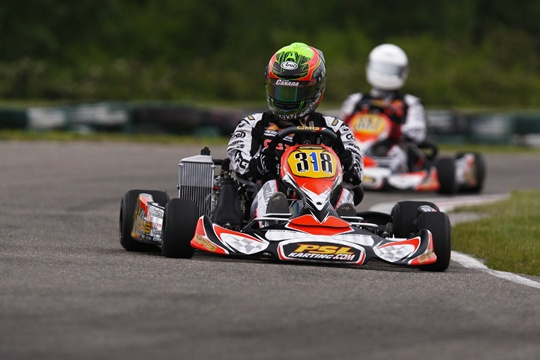 TEAM PSL KARTING VICTORIOUS IN COUPE DU QUEBEC REGIONAL ACTION