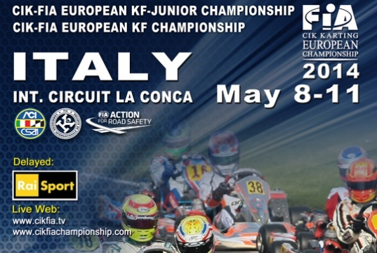 The CIK-FIA European KF and KF Junior starts this week