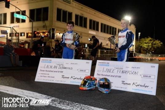 Benik Kart finds success at multiple events on both coasts