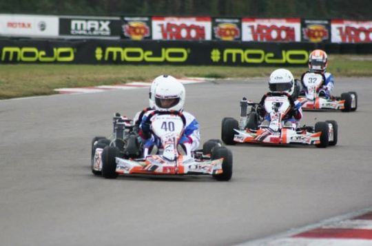 International platform for younger driver at 2015 RGF