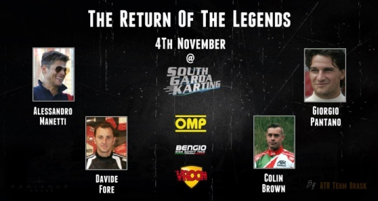 The return of the Legends