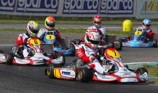 Fast laps and competitiveness for ART Grand Prix in Castelletto