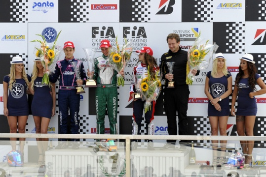 Armstrong (KF) and Lundgaard (KFJ) win the finals in Kristianstad