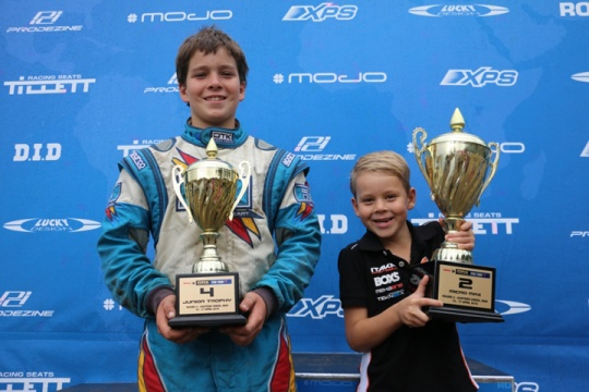 Vincent again best of karting kiwis across the Tasman