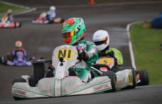 New Zealand Rotax Max Challenge, Agrisea Raceway - Rounds 7 & 8, August13th 2017
