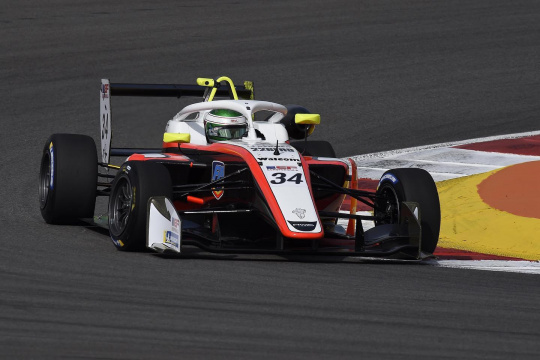 Enzo Trulli and Dilano Van't Hoff protagonist in the Euroformula and F4 Spain weekends