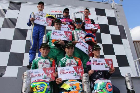 Rotax Max Euro Challenge, Salbris - Round 4, August 28 2016