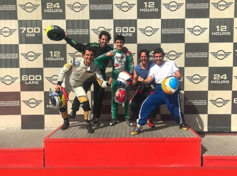 Alonso, De La Rosa and Vidales in Dubai for the 24 hours of karting