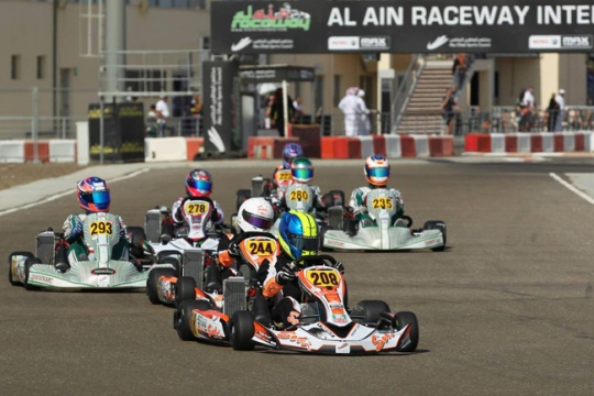 Sodi Racing Team ME at the Rotax Max Al Ain Invitational