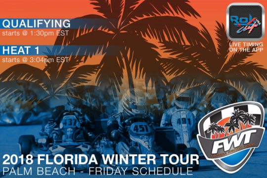 Mini, Junior and Senior Shifter classes to test pushback bumpers at 2018 Florida Winter Tour