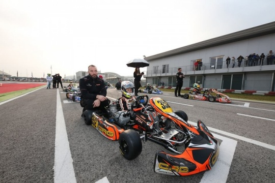CRG DRIVERS READY FOR THE WSK SUPER MASTER SERIES IN ADRIA