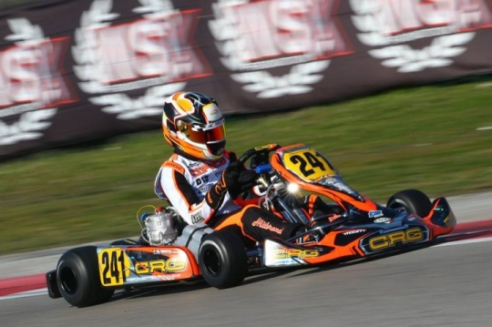 CRG, HILTBRAND AND BORTOLETO  PROTAGONIST OF WSK IN ADRIA