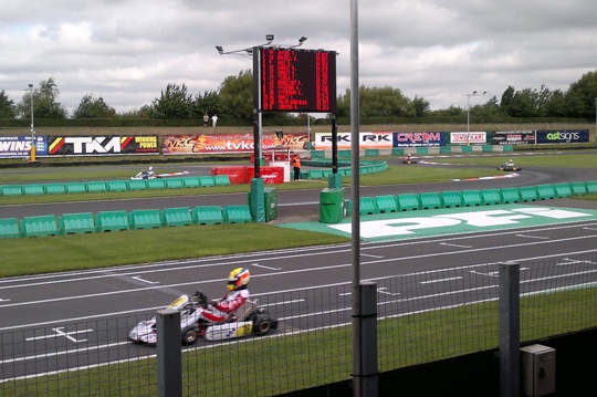Low entry World Champs at PFI