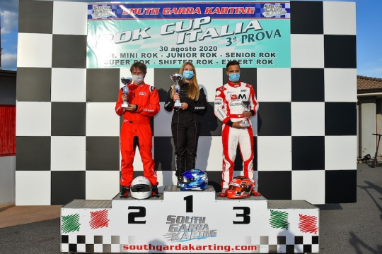 Victory for Toni Naudé in the 3rd round of the Rok Cup Italy