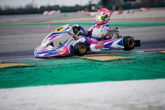 Women of karting - Léna Bühler
