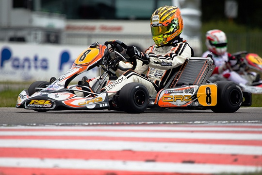 CRG heading to Wackersdorf for the second round of the European KZ-KZ2