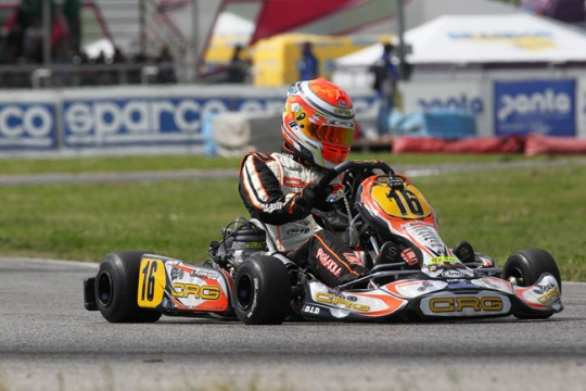 Crg in Sarno for the final sprint  of the WSK