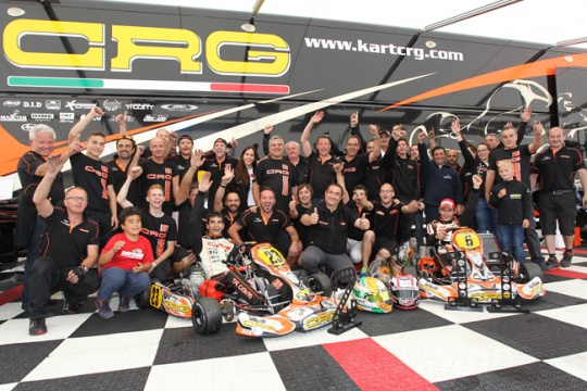 Crg World Champion in Le Mans with Jorrit Pex
