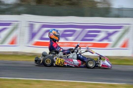 The recovery of the 2nd WSK round in Sarno