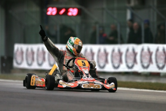 CRG-MAXTER AND DE CONTO STAR PERFORMERS OF THE WSK CHAMPIONS CUP