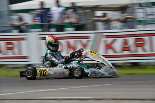 Top weekend for the racing team on the occasion of the European Championship of ok and okj in Sarno