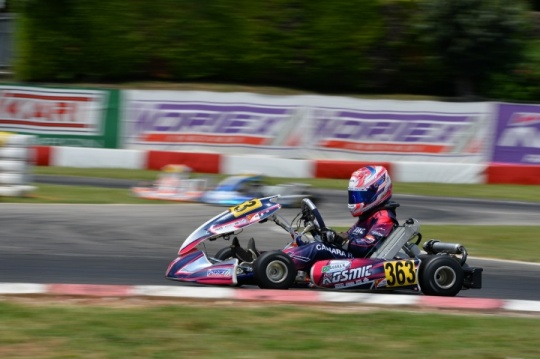 Good results for the Kosmic Team on the occasion of the WSK Open Cup in Lonato
