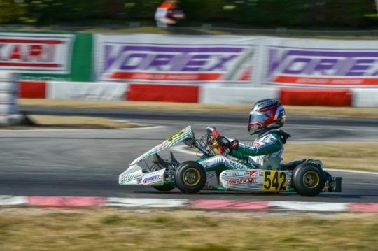 Tony Kart Racing Team ready to battle at the International Circuit La Conca