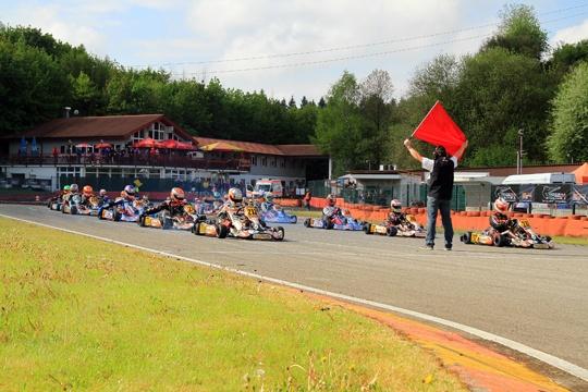 Strong German Kart Championship kick-off in Ampfing