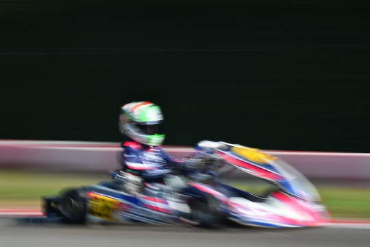 Finishing for WSK Open Cup results