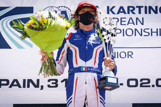 "Andrea Kimi Antonelli: ""It was a really special victory"""