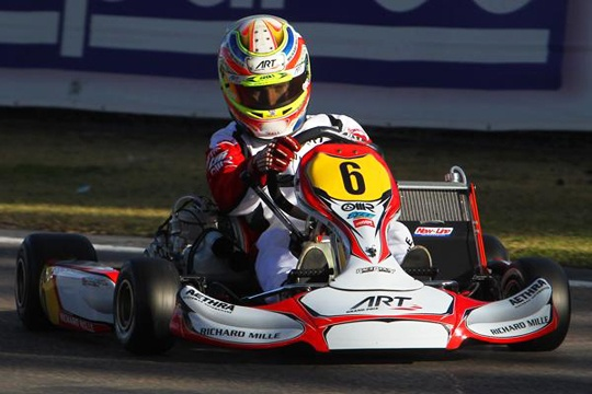 First major title of the season for ART Grand Prix with Hanley