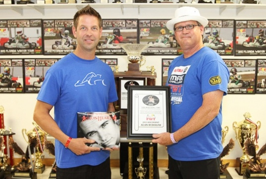 FWT hands out Dan Wheldon Ambassador award
