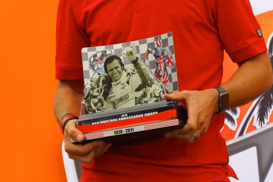 Dan Wheldon Ambassador Award to be presented at Florida Winter Tour finale