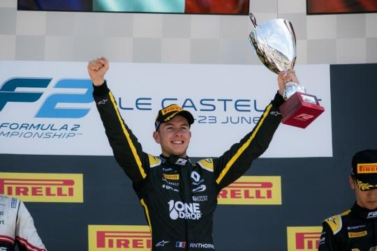 Montecarlo 2019, Hubert's triumph!